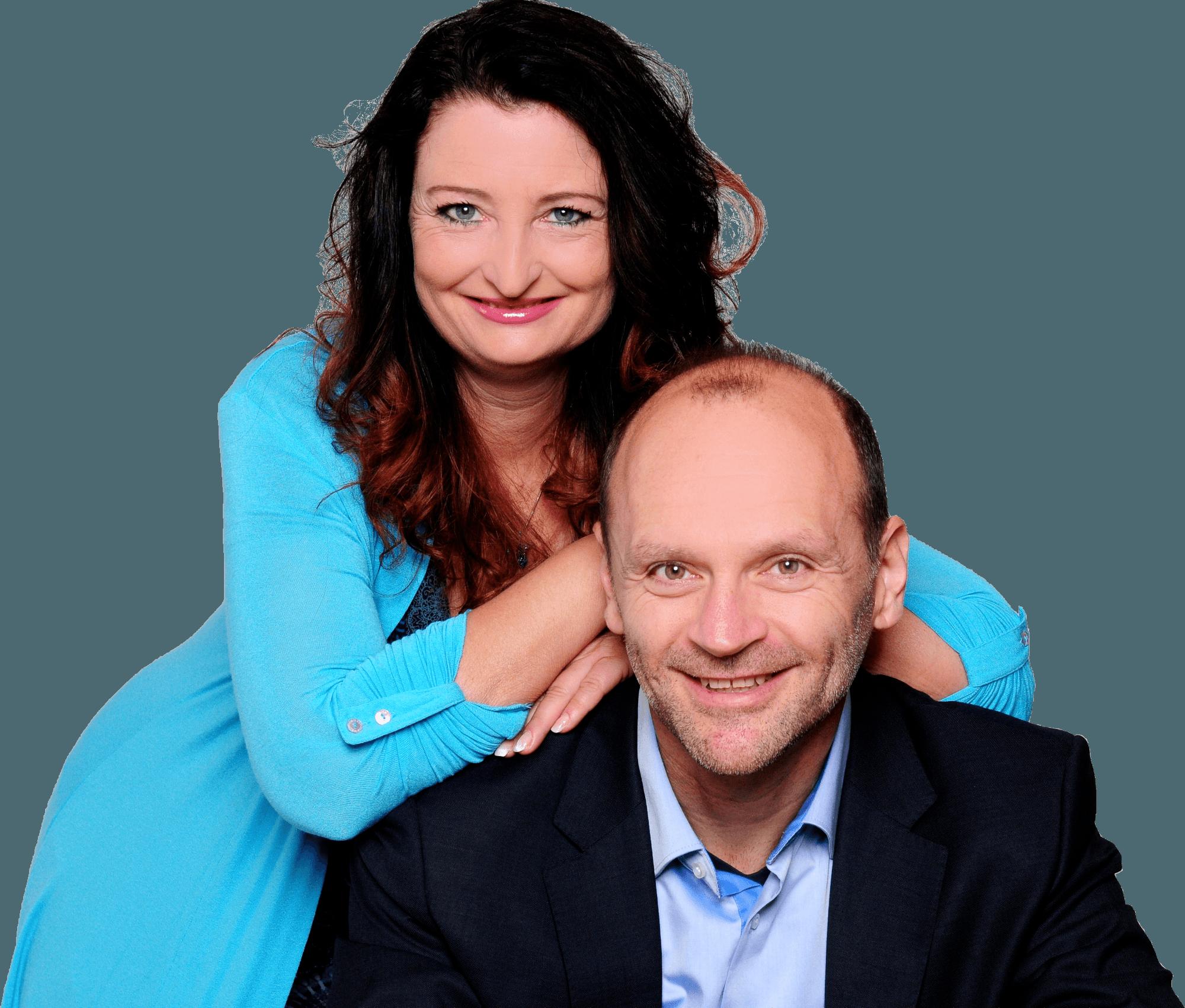 Regina Hüblein und Dieter Millig - Coach und Trainer von Leuchtturm Coaching und Training